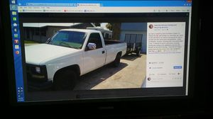 97 Chevy Pickup Truck / 350ci Motor / Runs Great for Sale in Gibsonton, FL
