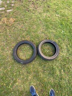 Motorcycle tires was for a Honda nighthawk for Sale in Saugus, MA