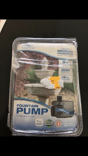 Pond & Fountain Pump for Sale in Glendale, AZ