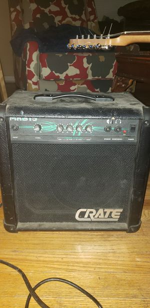 Crate MXB15 Combo Bass Amp for Sale in Fort Worth, TX