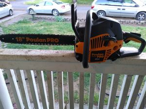 "Poulan Pro 42cc 18"" Chainsaw for Sale in Sweet Home, OR"