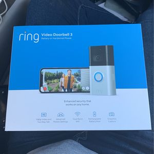 Ring Video Doorbell 3 for Sale in Temecula, CA