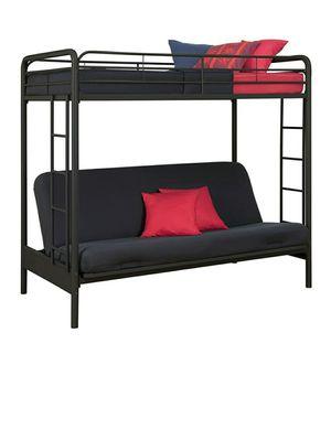 Twin futon bunk bed for Sale in UPPR MARLBORO, MD