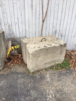 Concrete barriers for Sale in Worcester, MA