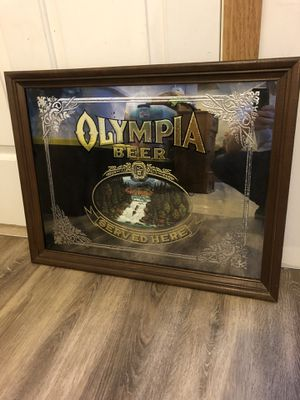 Vintage beer sign / mirror for Sale in Sartell, MN