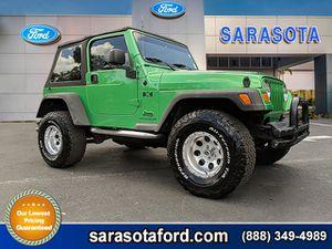 2004 Jeep Wrangler for Sale in Sarasota, FL