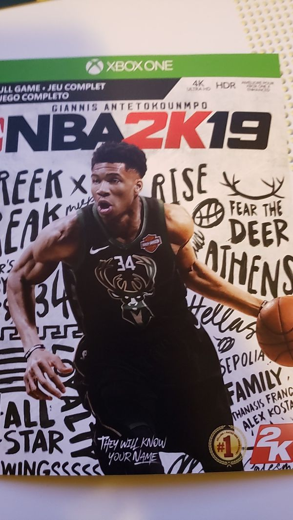 NBA2k19 full game never used it only for Xbox I just don't play it