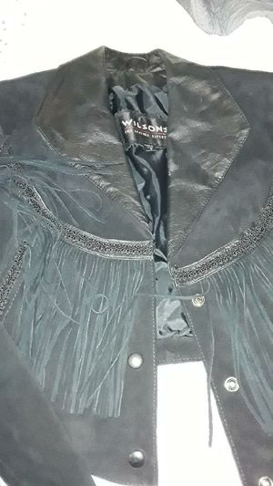 Wilson leather jacket for Sale in Indianapolis, IN