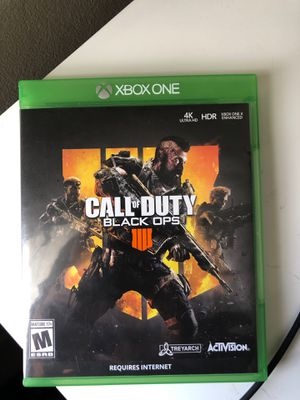 Black ops 4 ( Xbox One ) for Sale in Downey, CA