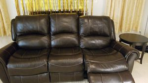 Power recliner sofa with side tables and coffee table for Sale in Ashburn, VA