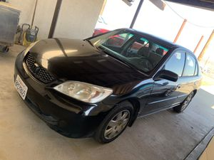 2005 Honda Civic w/ smog for Sale in Fresno, CA
