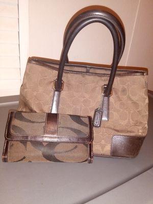 Coach bag & wallet for Sale in San Antonio, TX