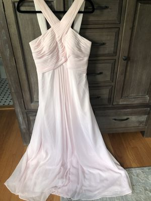 Size 8/10 Blush Pink Bridesmaid dress for Sale in Chicago, IL