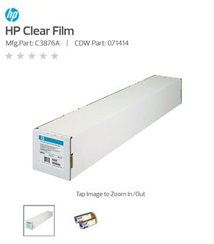 HP C3876a clear film for Sale in Olive Branch, MS