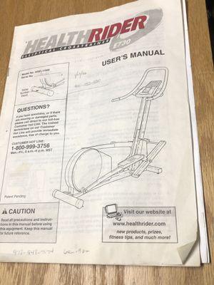 Health Rider Elliptical for Sale in Saugus, MA