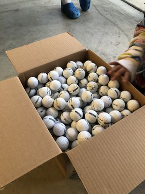 Golf balls (340 total) for Sale in Gilroy, CA