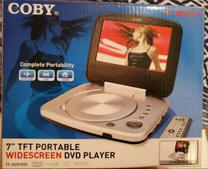 """Colby 7"""" TFT Portable Wide-screen DVD Player 16:9 Widescreen for Sale in Lakeland, FL"""