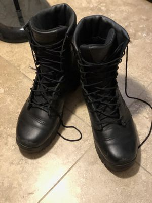 Oakley Work Boots size 10 Black for Sale in Fort Lauderdale, FL