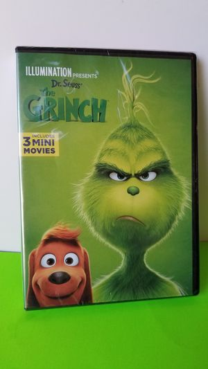 The Grinch Movie New&Sealed DVD for Sale in San Diego, CA