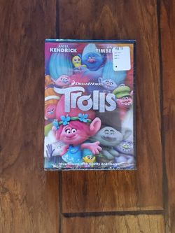 Trolls Movie DVD for Sale in Vancouver,  WA