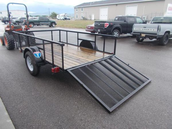 New 6x10 Utility Trailer WE FINANCE (Se habla español)
