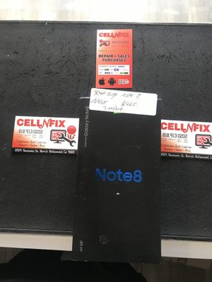 Samsung Galaxy Note 8 T-Mobile Metro PCs for Sale in Los Angeles, CA