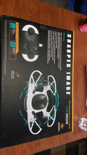 Sharper image rechargable fly and cad drone for Sale in Ontario, CA