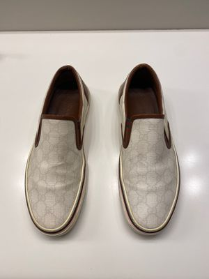 Gucci Canvas Supreme slip on sneakers. Size 42EU = 9-9.5US for Sale in San Diego, CA