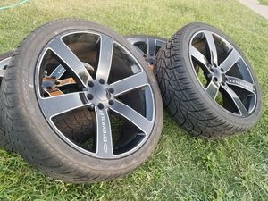 24s rims and tires for Sale in Mesa, AZ