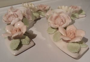 Lenwile Ardalt Porcelain Flower Candle Holders for Sale in St. Louis, MO
