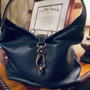 Pebble Leather Logo Lock Hobo Bag for Sale in Conyers, GA