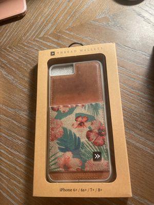 Thread Wallet Iphone 8 plus/7 plus for Sale in El Cajon, CA