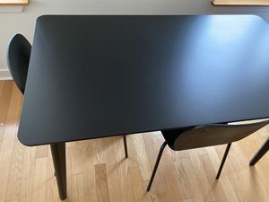 IKEA Lisabo table with four chairs for Sale in Jersey City, NJ