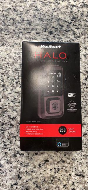 Brand New Kwikset Halo Wi-fi TouchScreen Smart Lock for Sale in Revere, MA