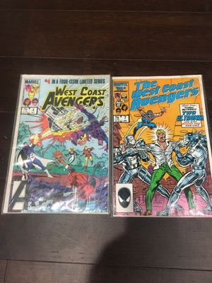 Marvel Comics 1985 The West Coast Avengers Iron Man Ultron for Sale in Los Angeles, CA