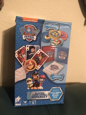 Brand new paw patrol game superset for Sale in Sacramento, CA