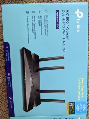 Wifi 6 router (ax1800) for Sale in Denver, CO