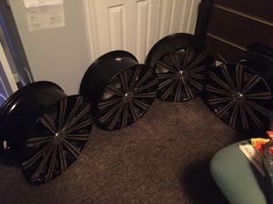 20 inch universal Borghini rims for Sale in Graham, NC