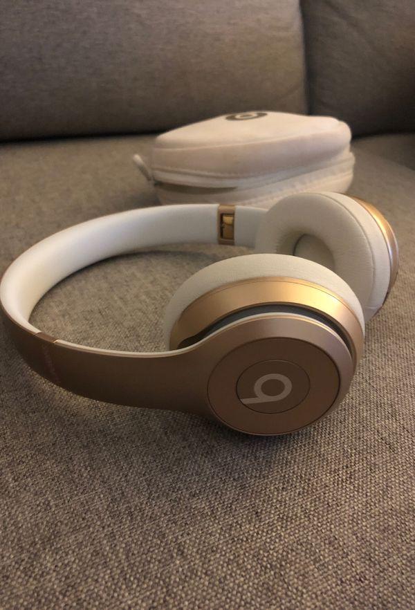 Wireless Beats Solo - Gold