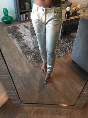Metallic Silver Pants for Sale in Los Angeles, CA