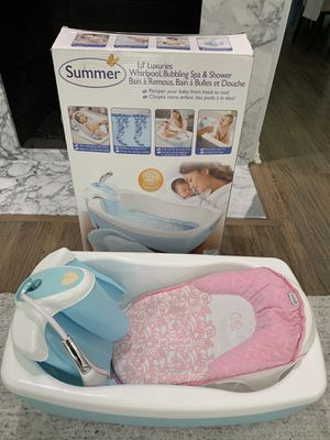Like New - Summer Lil' Luxuries Whirlpool, Bubbling Spa & Shower - infant, baby for Sale in Dallas, TX