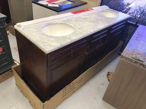 72 inch bathroom vanity for Sale in Phoenix, AZ