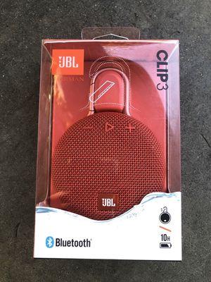 JBL Clip 3 {NEW}‼️ for Sale in Huntington Park, CA
