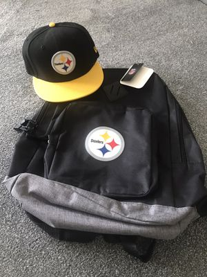 New Pittsburgh Steelers Strapback & backpack 🎒 25 cash for Sale in Sicklerville, NJ