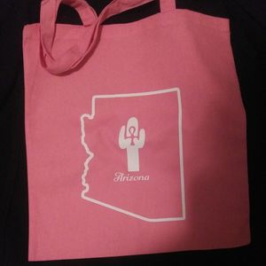 """Inspire Cacti Arizona Tote bag. """"Something to Tote about """" for Sale in Mesa, AZ"""