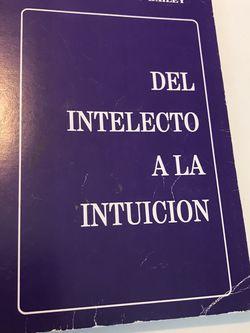 Del Intelecto A La Intuición for Sale in Miami,  FL