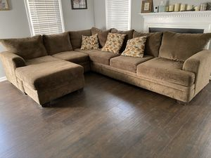 Sectional couch for Sale in Franklinton, NC