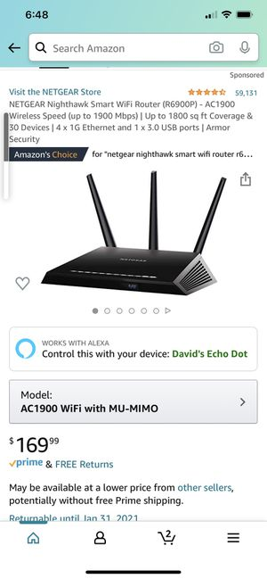 Netgear nighthawk router and Motorola modem for Sale in Hawthorne, CA
