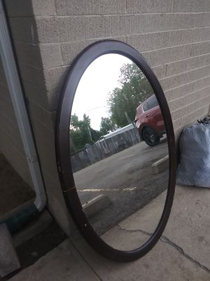 Large Oval mirror for Sale in Arvada, CO