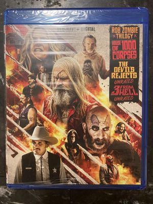 Rob zombie trilogy Blu-ray digital Copy Only for Sale in San Diego, CA